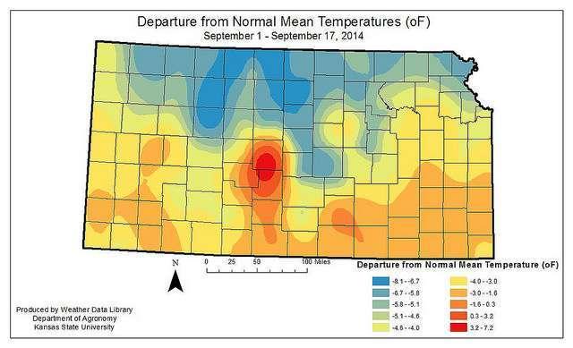 Cold snap may have nipped Kansas sorghum, soybeans more than corn