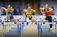 Track and field coaching clinic in Newton