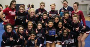 Cheer Finishes In First Place At Sterling Cheer & Dance Invitational
