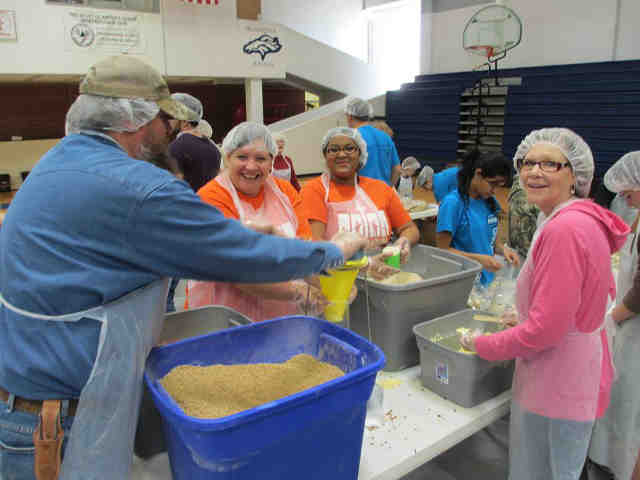 HEAVEN SENT MINISTRIES FOOD PACKAGING EVENT