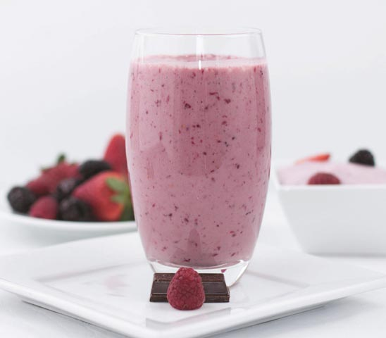 Chocolate-Berry-Smoothie