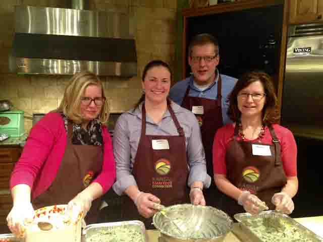 Kansas farmers, guests support families at 'Meet the Makers' event