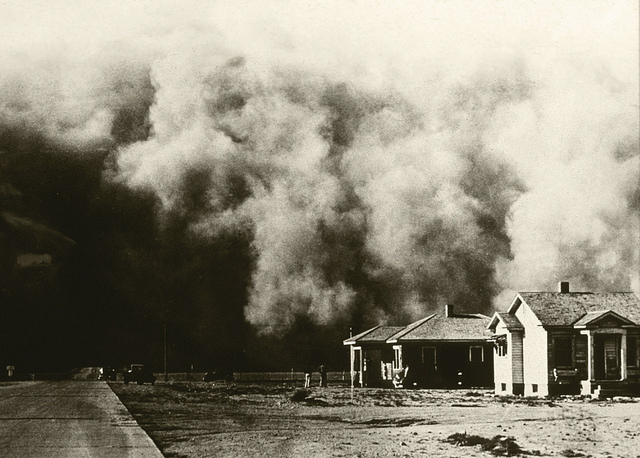 Dole Institute hosts documentarian on agriculture in the Dust Bowl Era