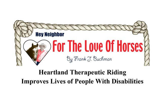 For The Love Of Horses: Heartland Therapeutic Riding Improves Lives Of People With Disabilities