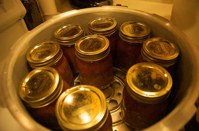Storing canned foods