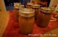 Chunky Spiced Applesauce