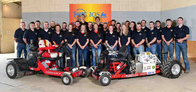 UNL quarter scale tractor team wins international competition