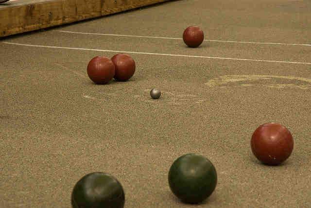 Goddard bocce ball court