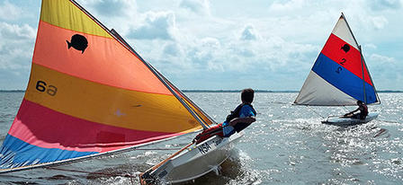Cheney Jr. Sailing Camps are underway