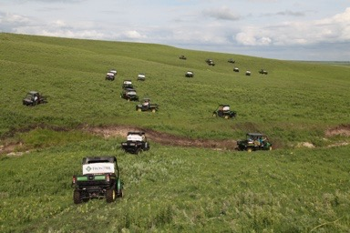 Green All-Terrain Vehicles Tour Flint Hills Pastures To Benefit Four Lyon County Charities