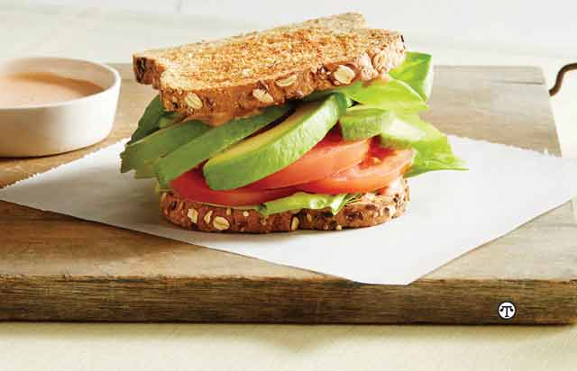 """Don't Settle For Just Any Sandwich, Create A Delicious """"California"""" Sandwich"""