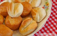 Homemade brown and serve rolls