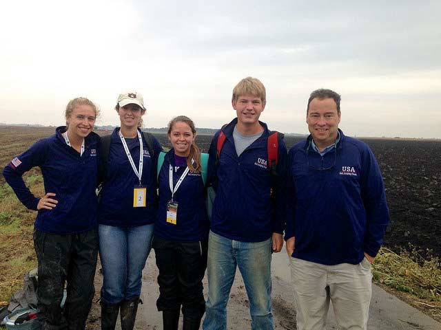 Team USA brings home the gold at international soil judging contest