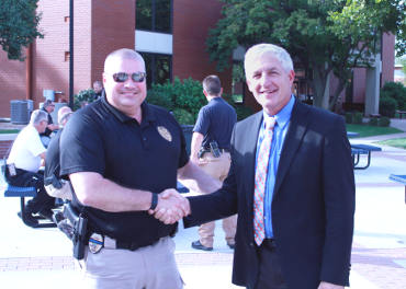 Chief-McClarty & President Hoxie