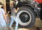 Pratt Community College Ag power program loaned tractor for student training