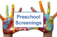 Goddard: Pres School Screening Clinic at St. Joseph Catholic School on Nov 18