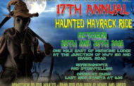 Medicine Lodge: The Greater Barber County Historical Association presents their 17th Annual Haunted Hayrack Ride