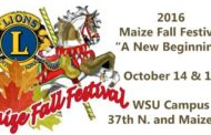 Maize Fall Festival Scheduled for October 14-15