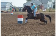 Hesston: Bean Field Barrel Race Fundraiser took place on Oct 29