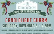 Council Grove: Candlelight Charm event scheduled for November 5