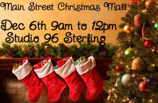 Sterling Main Street Christmas Mall activities scheduled for Dec 3