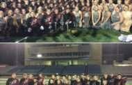Buhler High School Marching Band won the Kansas Bandmasters Championship on Oct 22