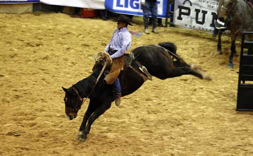 Top Hand, Reserve Top Horse Honors Come To Kansas From World Championship Ranch Rodeo