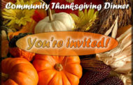 Douglass Ministerial Community Thanksgiving dinner to be held Nov 23