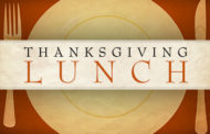 The Generous Hearts of Augusta Free Thanksgiving Luncheon scheduled for Nov 24