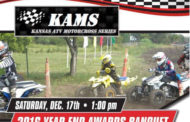 The KAMS Year End Awards Banquet will take place on Dec 17th