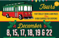 McPherson Holiday Light Trolley Tours on Dec 15, 17, 18, 19 and 22