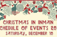 Christmas in Inman events will take place on Dec 10