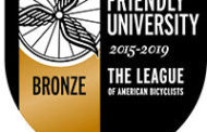 ESU named as Bronze Bicycle Friendly University by the League of American Bicyclists
