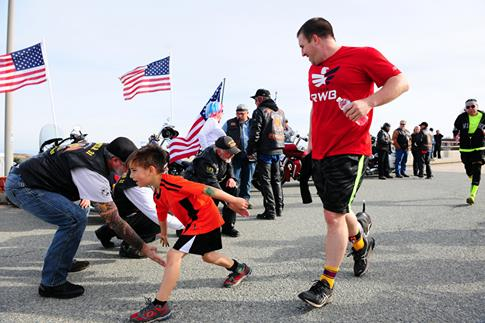 Vets and Employees 'Walk and Roll' at Robert Dole