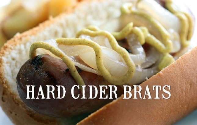 Recipe: Hard Cider Brats