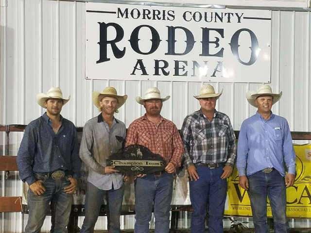 For The Love Of Horses -Oklahoma Ranch Tops 18 Teams At Santa Fe Trail Ranch Rodeo
