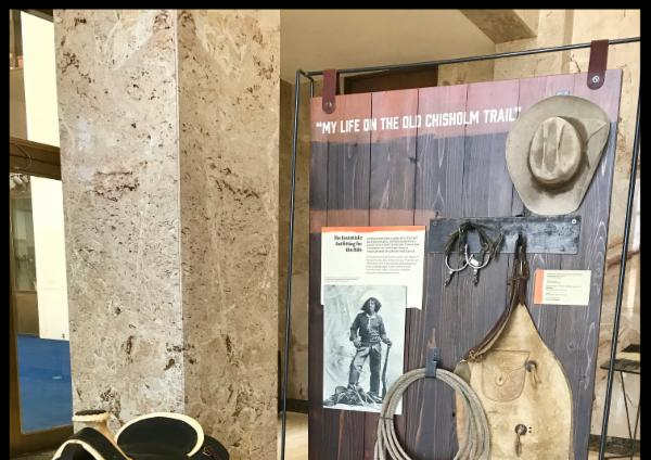 Chisholm Trail Traveling Exhibit   Opens at Eisenhower Presidential Library