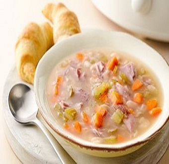 Ham-Bean Soup