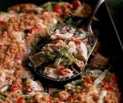 Wild Rice-Turkey Casserole
