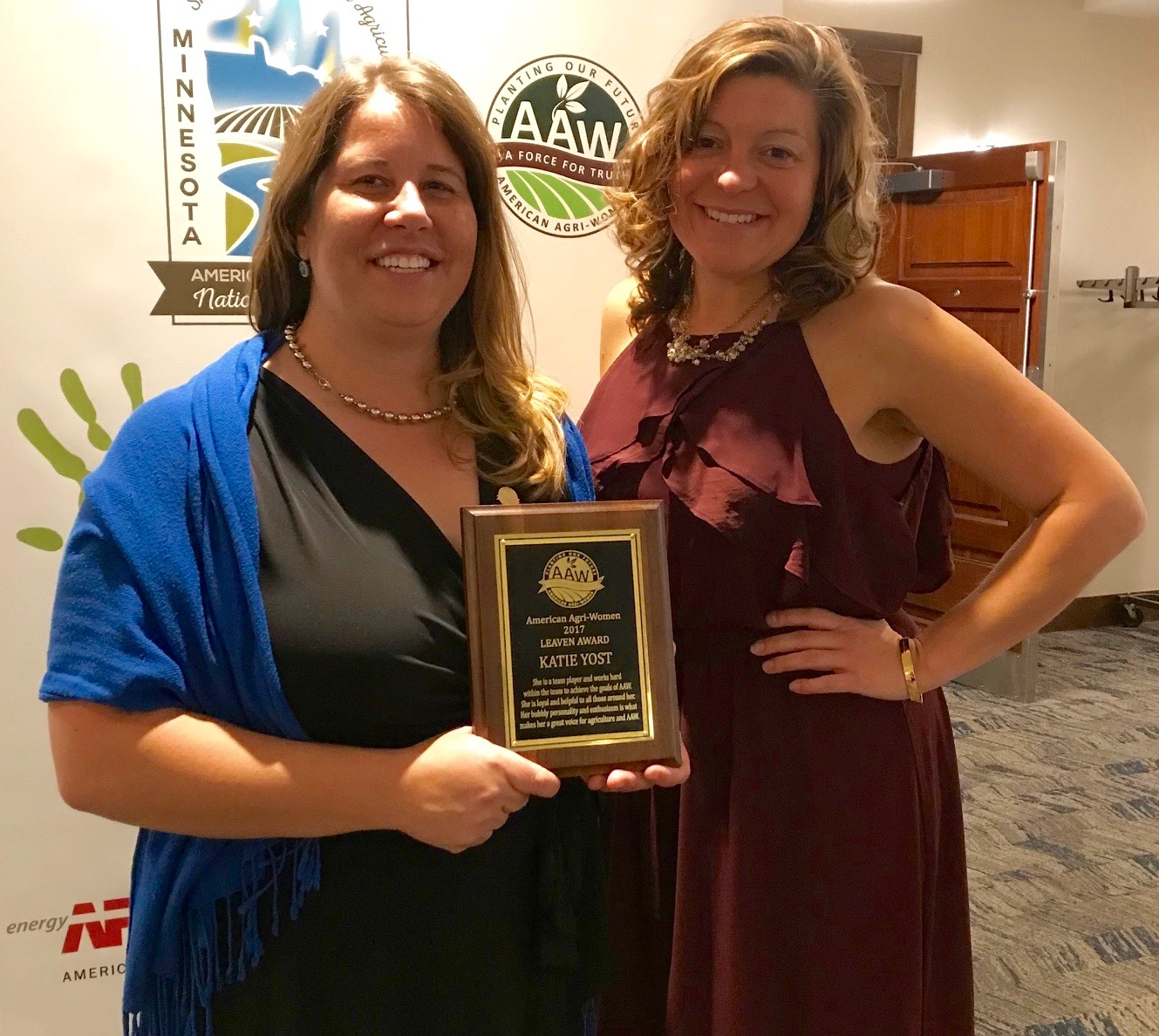 Katie Yost Awarded American Agri-Women's Highest Honor