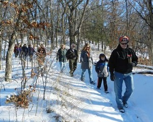 Celebrate the new year with a winter hike