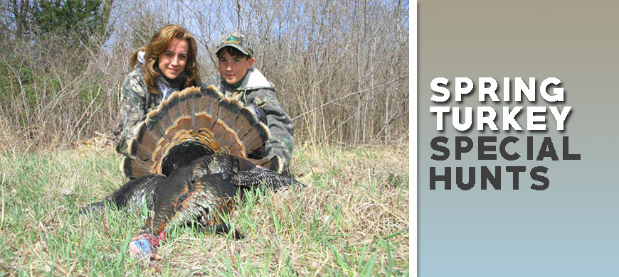 Application Period To Open For Spring Turkey Special Hunts