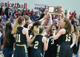Haven High Girls Basketball Places Third at State