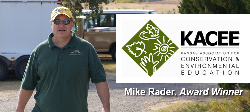 Rader is Selected for the Lifetime Environmental Education Award