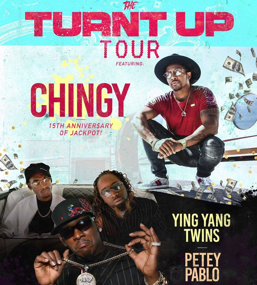 Chingy w/ The Ying Yang Twins & Petey Pablo June 14
