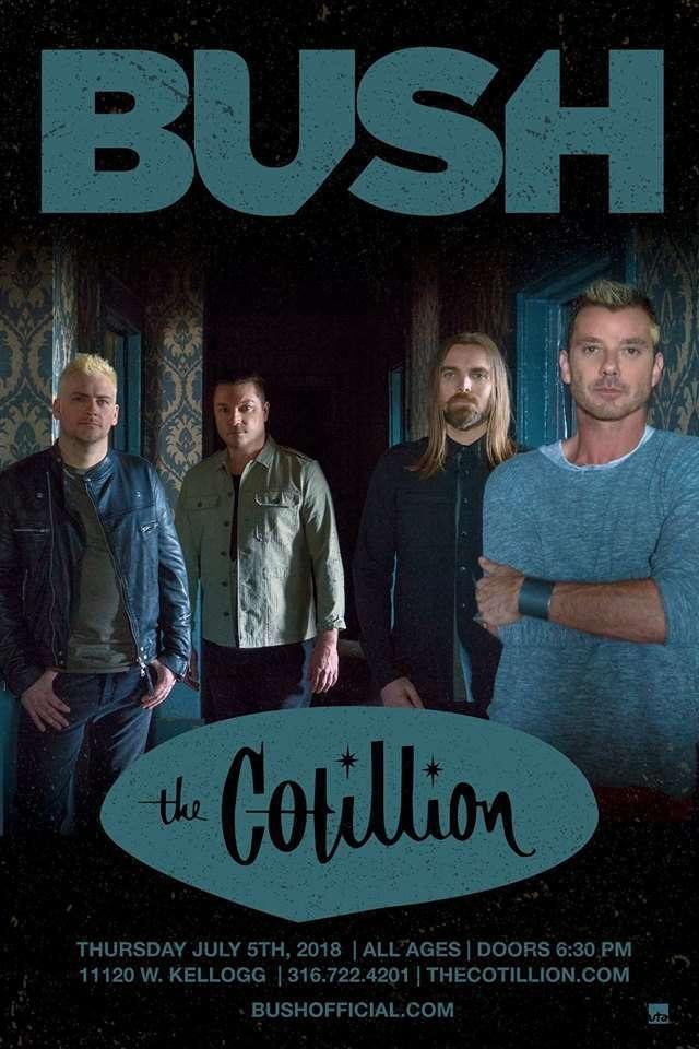 Bush July 5 ı Wichita, KS at The Cotillion