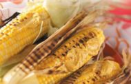 Campfire Corn on the Cob with Goat Cheese Topping