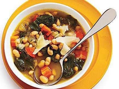 Tuscan White Bean and Escarole Soup
