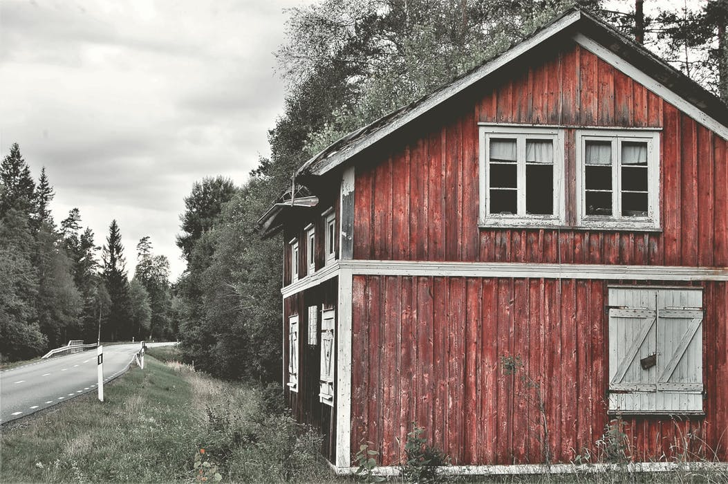 The old red barn (ain't what she used to be)
