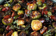 Bacon Packed Brussels Sprouts